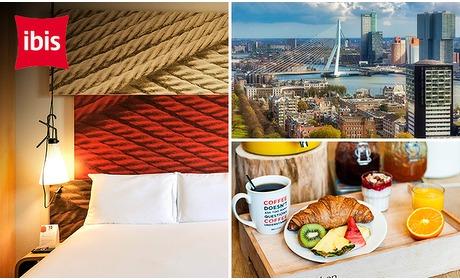 Social Deal: Overnachting + ontbijt voor 2 in hartje Rotterdam
