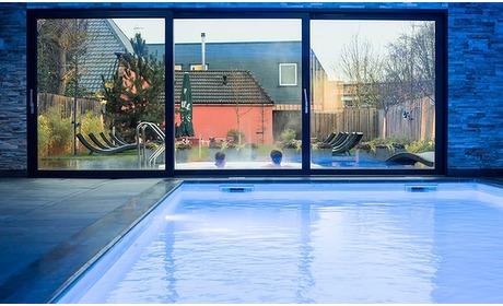 Groupon: Nabij Groningen: deluxe tweepersoonskamer met ontbijt, wellness, diner