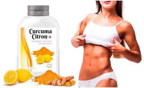 Groupon: Curcuma Lemon-afslankkuur