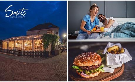 Social Deal: Overnachting voor 2 + ontbijt en diner bij Hotel Smits