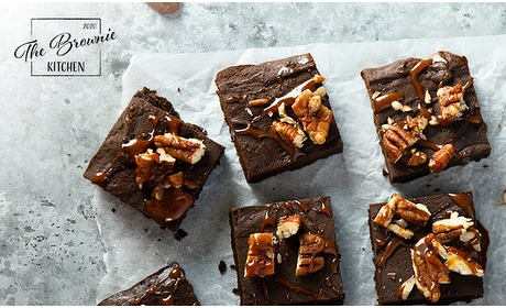 Social Deal: Thuisbezorgd of afhalen: brownies (6, 12 of 24 stuks)
