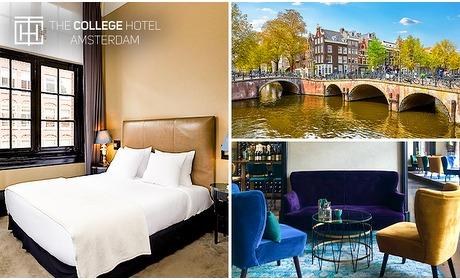 Social Deal: Overnachting voor 2 + diner in Amsterdam Oud-Zuid