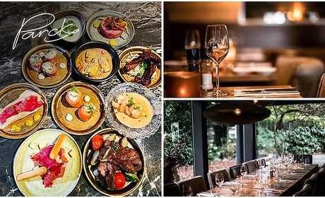 Social Deal: Thuisbezorgd of afhalen: shared dining (10 gerechtjes!) bij Parck