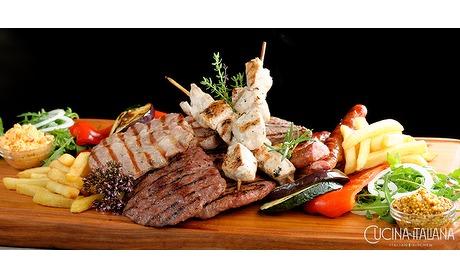 Wowdeal: Italiaanse Mixed-Grilled bij Cucina Italina