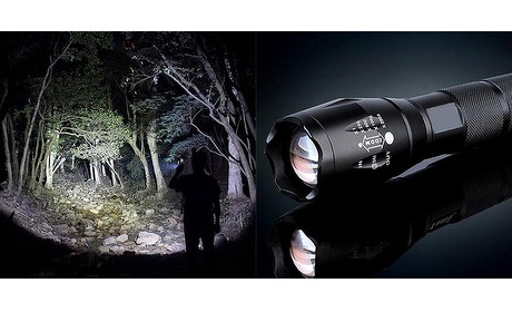 Wowdeal: Militaire LED zaklamp