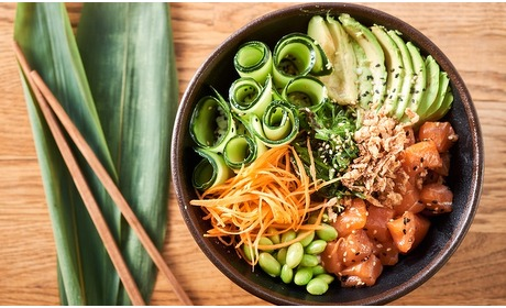 Groupon: Afhalen in A'dam-Oost: pokebowl