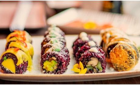 Groupon: Vegan sushi afhalen