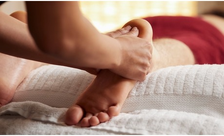 Groupon: 1-3 keer voetreflex-zonetherapie