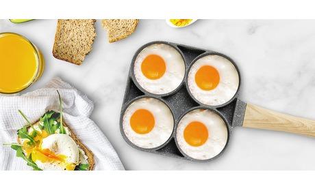 Wowdeal: Eierpan voor perfecte eitjes, pannenkoeken en burgers