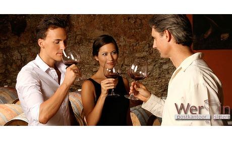 Wowdeal: Wijn- of bierproeverij met tapas bij jou thuis van WerVin