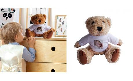 Wowdeal: Teddybear met print 1 of 2 stuks