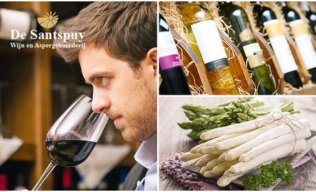 Social Deal: Afhalen: diner + wijn bij De Santspuy