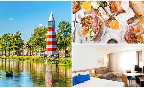 Social Deal: Overnachting voor 2 + ontbijt in Breda