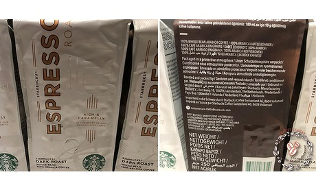 Wowdeal: 3 kilo Starbucks Espresso koffiebonen