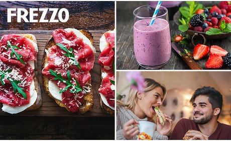 Social Deal: Afhalen: broodje naar keuze + smoothie bij Frezzo