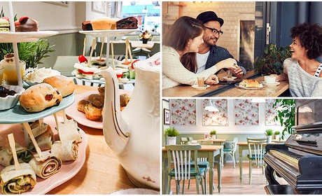 Social Deal: Afhalen: luxe high tea van Di's Sweets & Chocolates