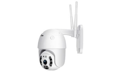 Groupon: Full HD wifi-buitencamera met bewegingsbediening en tweerichtingsaudio