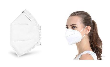 Wowdeal: 5 of 10 FFP2 medisch mondmaskers incl verzending