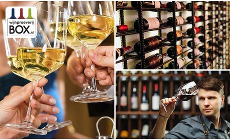 Social Deal: Thuisbezorgd of afhalen: mini-wijnproeverij (2-4 personen)