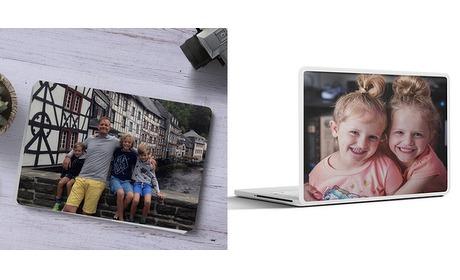 Wowdeal: Laptop sticker met eigen foto