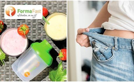 Social Deal: Thuisbezorgd: 10-daags dieetpakket + shakebeker