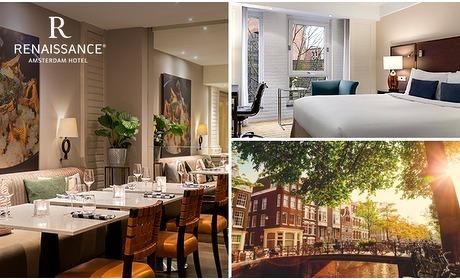 Social Deal: 5-sterrenovernachting voor 2 + ontbijt in Amsterdam