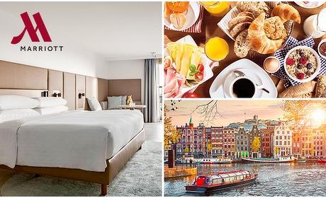 Social Deal: 5-sterrenovernachting(en) voor 2 of 4 + ontbijt in Amsterdam