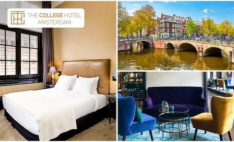 Social Deal: Overnachting voor 2 + ontbijt + diner in Amsterdam Oud-Zuid