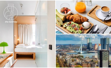 Social Deal: Vip-overnachting voor 2 + ontbijt + late check-out in hartje R'dam