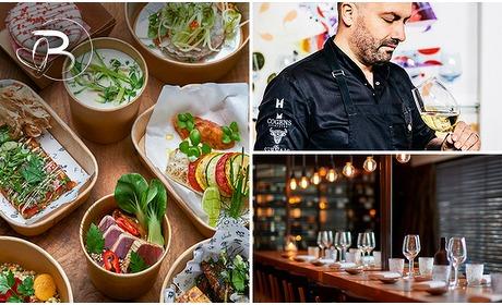 Social Deal: Thuisbezorgd: shared dining + wijn van Beluga & Flavourz
