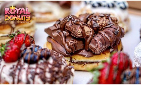 Social Deal: Afhalen: donut + drankje of een donutbox (6 of 12 stuks)