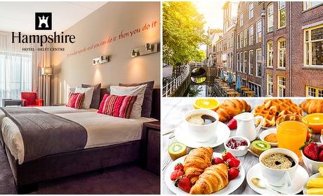 Social Deal: Overnachting voor 2 + ontbijt in Delft