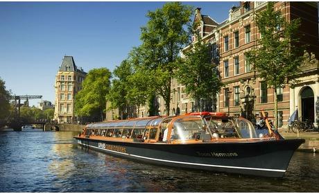 Groupon: Rondvaart van 60 min in Amsterdam