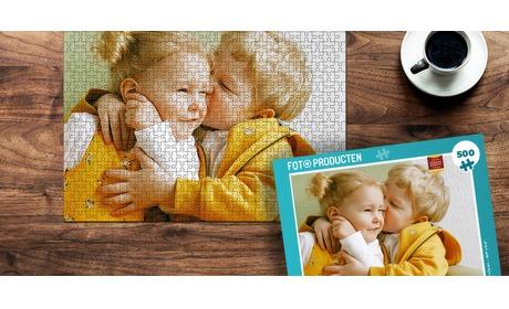 Wowdeal: Fotopuzzel met doos (500/1000 stukjes)