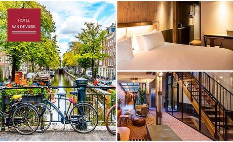 Social Deal: Luxe overnachting voor 2 + ontbijt vlak bij het Leidseplein