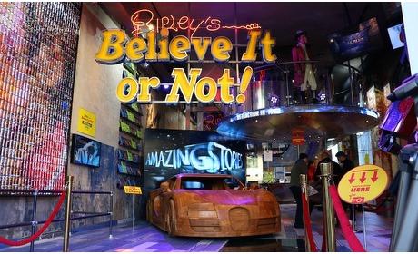 Groupon: Naar Ripley's Believe It Or Not