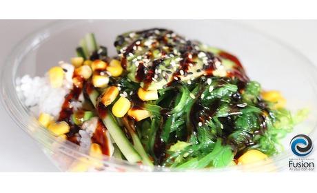 Wowdeal: Sushi Bowl bij Fusion Helden