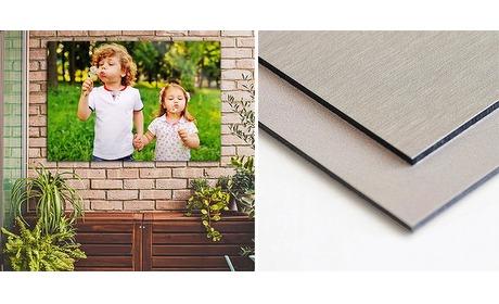 Wowdeal: Foto op aluminium voor buiten