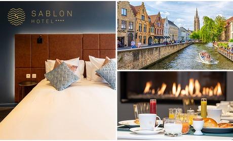 Social Deal: Overnachting voor 2 + ontbijt in hartje Brugge
