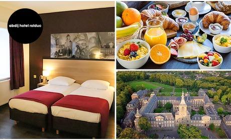 Social Deal: Overnachting voor 2 + ontbijt in uniek abdijhotel in Zuid-Limburg