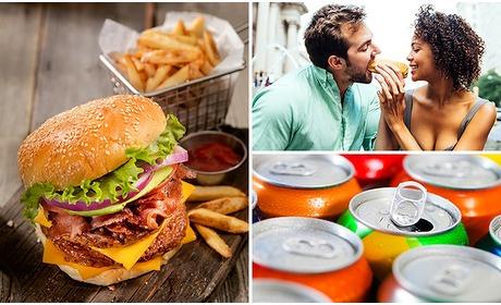 Social Deal: Luxe hamburgermenu + drankje