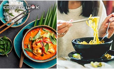 Social Deal: Afhalen: Thaise maaltijd bij Come to Thai Wok
