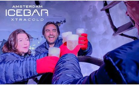 Social Deal: Entree Amsterdam Icebar (45 min) + 3 drankjes